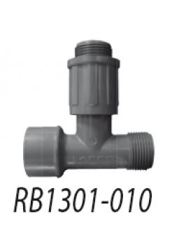 Т-образный фитинг 1'' ВР X 1'' НР поворот.соедин.X муфта 1'' НР 1301-010 V54281