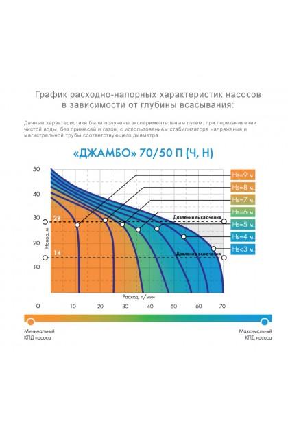 Насосная станция Джилекс ДЖАМБО 70/50 П-24 (4721)