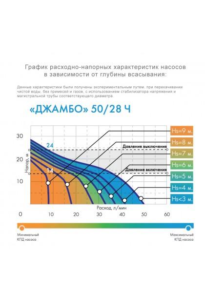 Насосная станция Джилекс ДЖАМБО 50/28 Ч-18 (4017)