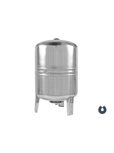 Гидроаккумулятор 80 литров (вертикальный), нержавеющая сталь, мембрана EPDM